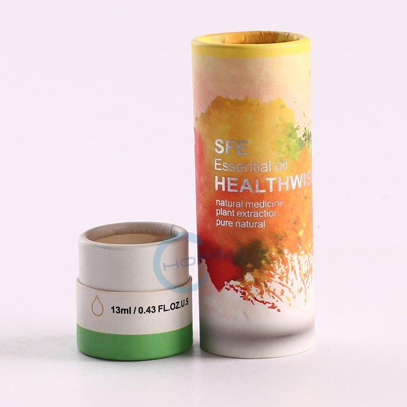 High Quality Cardboard CBD Oil Round Shape Gift Packaging Box