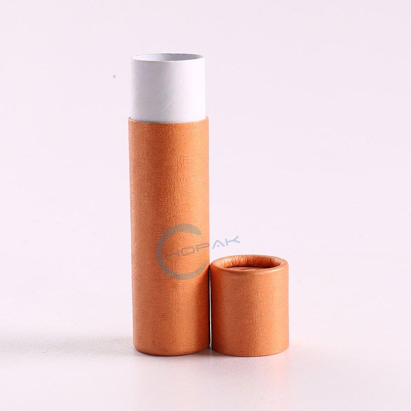 Custom Printed CBD Hemp Oil Bottle Paper Tube Packaging