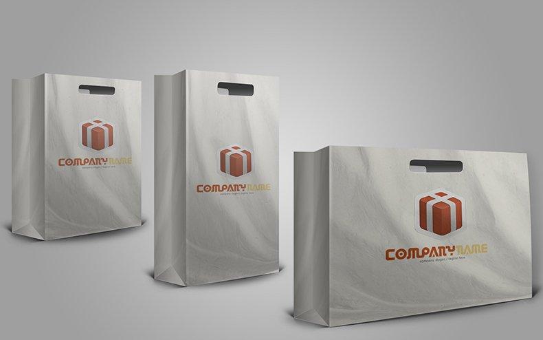 Custom Printed Luxury Retail Paper Shopping Paper Bag
