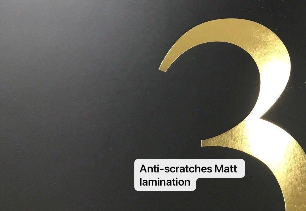 matte lamination