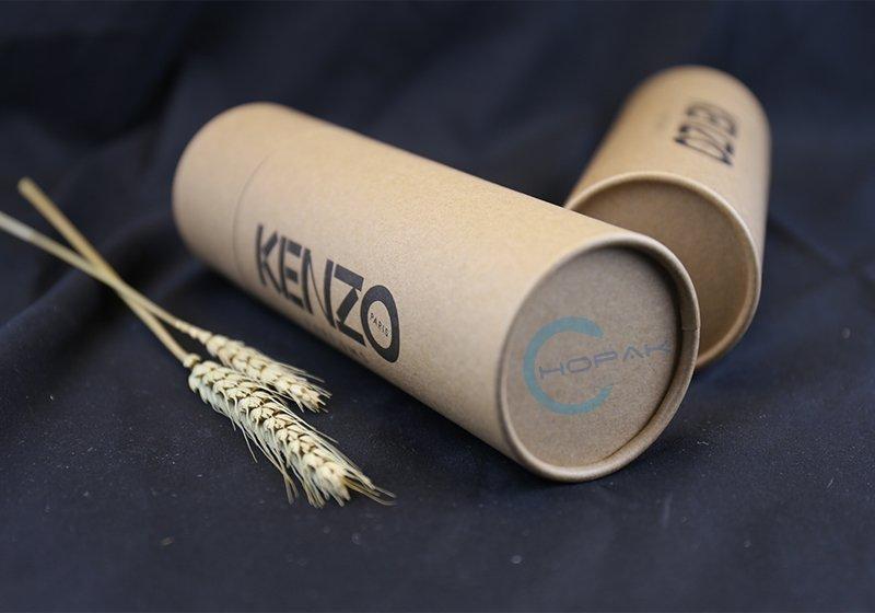 Custom Made Brown Kraft Paper Core Tube Packaging