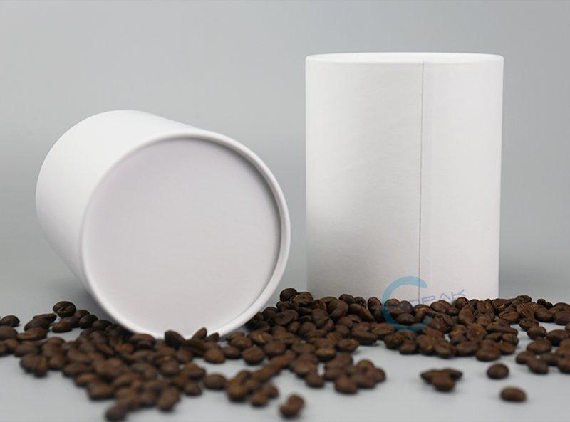 Food Grade Custom Eco Friendly Cardboard Tube Food Packaging for Coffee