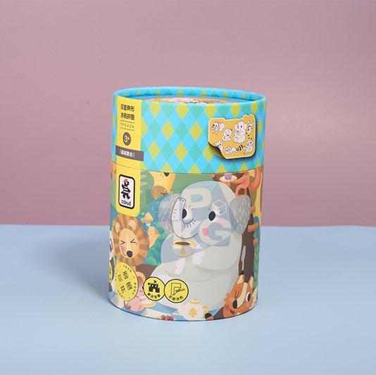 paper tube packaging for children Jigsaw (5)