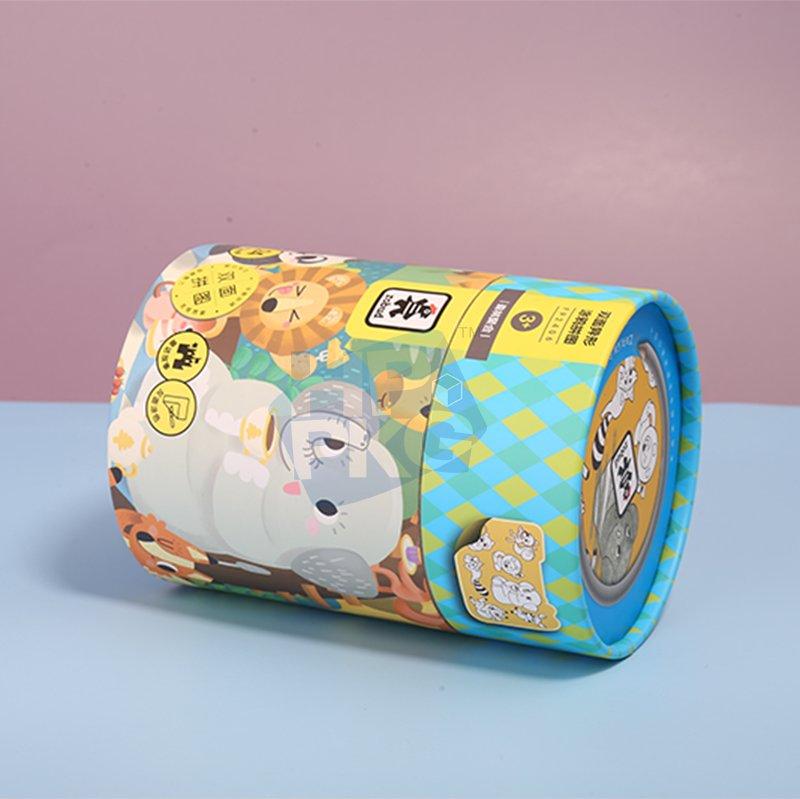 paper tube packaging for children Jigsaw (6)