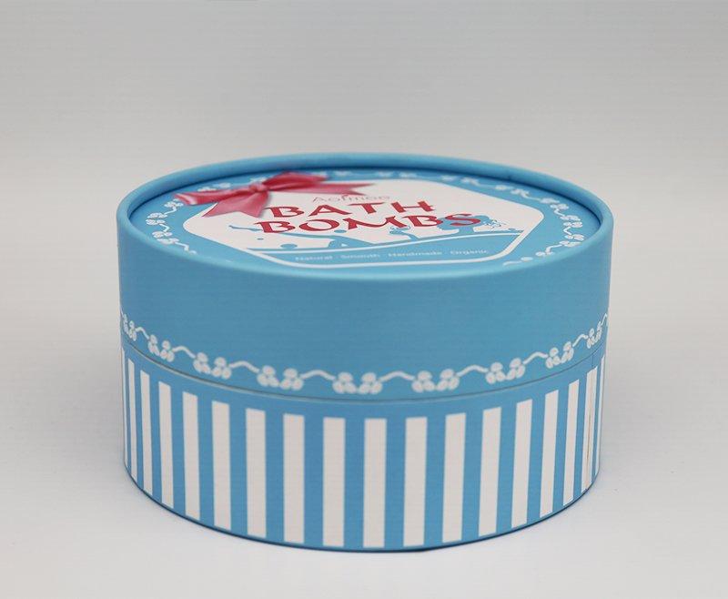 round short gift paper tube