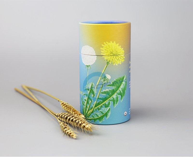 tea tube cylinder